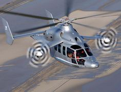 Jet Meets Heli: Rolls-Royce Powered Eurocopter X3 prototype, which combines the technology of a turboprop plane with traditional helicopter engineering, just attained an airspeed of 180 knots (207 mph) in level flight in testing in Istres, France.