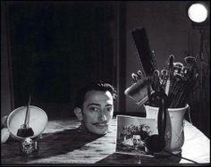 Portrait Salvador Dalí