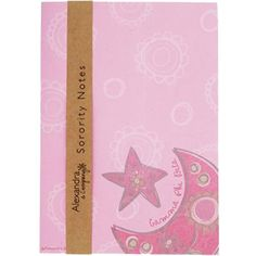 Gamma Phi Beta New Sorority Notepad