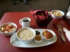 Breakfast at the Hyatt St. LOUIS MO.