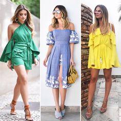 Vestido amarelo: como criar looks nada óbvios com essa cor