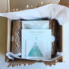 only reusable and recyclable packaging  #tedscoco