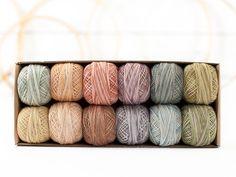 Valdani Pearl Cotton Thread Box (Muddy Monet)