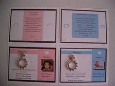 10 BAPTISM FAVORS  rosary medal by annthompson121 on Etsy, $18.00