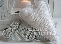Háčkované srdíčko Embroidery, Blanket, Crafts, Decor, Crochet Ideas, Fashion, Moda, Needlepoint, Manualidades