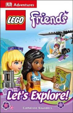 Combining DK's new chapter book series with the successful LEGO Friends brand, DK Adventures: LEGO Friends: Let's Explore! will help kids learn how to read and learn to love reading. Follow the girls