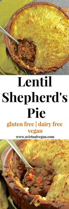 Rich flavourful saucy lentils topped with fluffy creamy mashed potatoes and baked until deliciously golden brown and crispy. The ultimate vegan shepherd's pie!