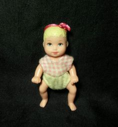 Mattel Barbie Happy Family Baby Girl Doll Figure Blonde Krissy    f56