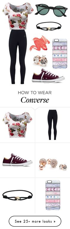 """#No name"" by eemaj on Polyvore featuring NIKE, Converse, Ray-Ban, Casetify, GUESS, Cartier, women's clothing, women, female and woman"