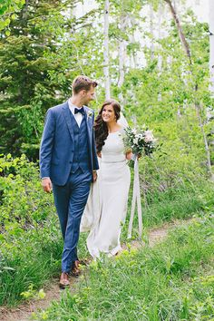 modest wedding dress with half sleeves from alta moda. -- (modest bridal gown) photo by kate benson
