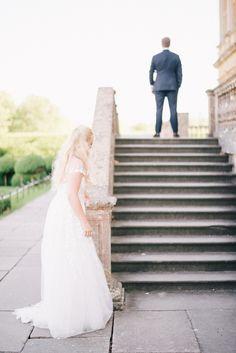 Mira Zwillinger New Charlie Elegant English Longleat Wedding with Plenty of Personal Touches | Junebug Weddings