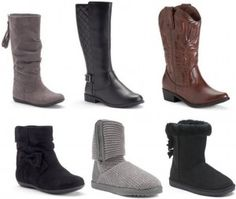 Kohl's: $8.18 Girls Boots with overlapping offers (regular prices $59.99+!) - http://www.couponaholic.net/2015/11/kohls-8-18-girls-boots-with-overlapping-offers-regular-prices-59-99/