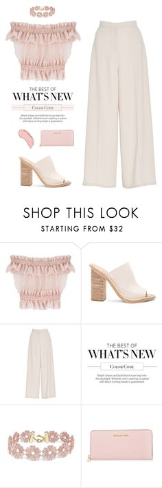"""""""""""We are products of our past, but we don't have to be prisoners of it.""""  -Rick Warren, The Purpose Driven Life: What on Earth Am I Here for?"""" by are-you-with-me ❤ liked on Polyvore featuring Alexander McQueen, Balenciaga, Madiyah Al Sharqi, BaubleBar, Michael Kors and NYX"""