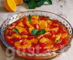 Lajos Mari konyhája - Részeges eper-narancs saláta