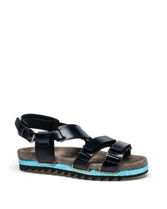 Lanvin - RIBBED SANDAL - Shoes - Men