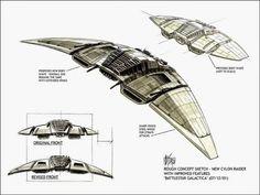 Stunning Concept Art From The Battlestar Galactica You Never Saw