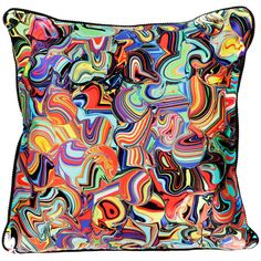 The VIVID Collection - Fusion Silk Cushion (1.210.960 IDR) ❤ liked on Polyvore featuring home, home decor, throw pillows, retro home decor, retro throw pillows, silk accent pillows and silk throw pillows