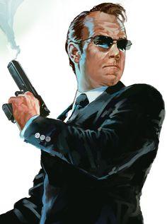 Agent Smith - The Matrix - Dave Seguin