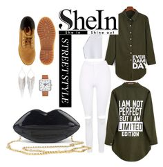 """""""#back to school 2"""" by xosapengie ❤ liked on Polyvore featuring Nixon, Timberland, Topshop and Jules Smith"""