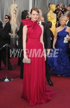 Emma Stone at the Oscars 84th Annual Academy Awards 2012 (Photo by Steve Granitz/WireImage)
