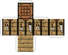 1000 images about paper craft on pinterest papercraft download papercraft and free paper - Table d alchimie minecraft ...