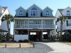 Holden Beach, NC - A Shell of a Place 651 a 5 Bedroom Oceanfront Rental House in Holden Beach, part of the Brunswick Beaches of North Carolina. Includes Private Pool, Hi-Speed Internet