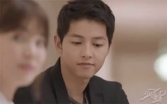 Imagine gif, song joong ki, and smile