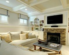 Basement ledges wall finishing basement basement ideas for Bi level basement ideas