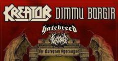 KREATOR & DIMMU BORGIR Uniting For EU. Co-Headline Tour; HATEBREED & BLOODBATH Supporting