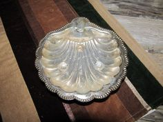 Vintage Celtic Quality Plate Silver tone Shell Soap Dish Footed Bathroom Accessory Made in England by EvenTheKitchenSinkOH on Etsy