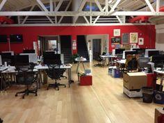 A Few Shots Of Pinterest's Office