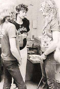 Jimmy Page, Robert Plant & John Paul Jones   Led Zeppelin