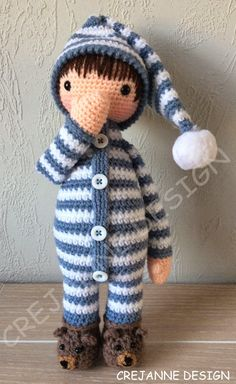 Crejanne - link does not link directly to the pattern because it wouldn't pin. Name of paid pattern is Sven in Pajamas
