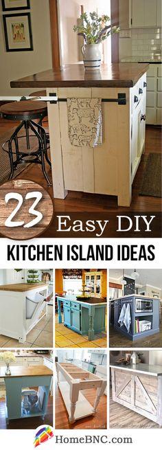 DIY Kitchen Island Designs