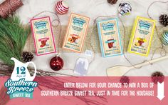 Enter to win 12 Days of Southern Breeze Tea @ http://woobox.com/js5qdw/ghsclx!
