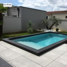 Nos réalisations - Rouvière Collection Pool Coping, Moderne Pools, Outdoor Living, Outdoor Decor, Cool Pools, Pool Designs, Backyard Patio, Backyard Landscaping, Swimming Pools