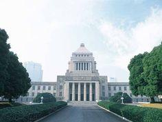 国会議事堂 House of Councillors. The National Diet of Japan - Nagatacho