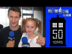 This is So.Damn.Cute.▶ Matt Smith - Lindalee Interviews the 11th Doctor - Doctor Who Week - YouTube