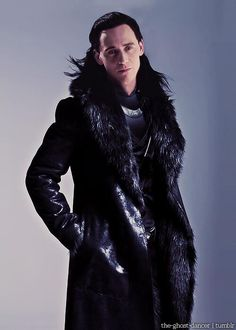 Just cause we really need to see him in fur on top of all that leather and metal...