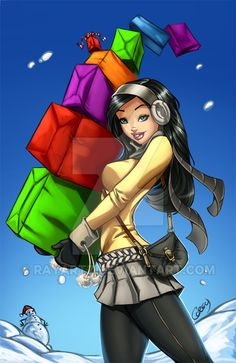 Packages, boxes and bags! by RayArtz on DeviantArt