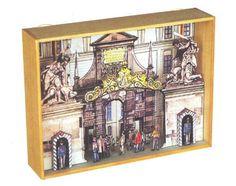Prague Castle Diorama Free Papercraft Download