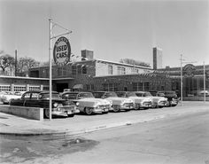 Old car Dealerships on Pinterest | Used Car Lots, Car ...