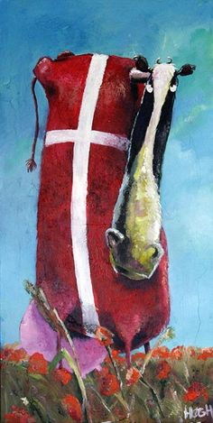 Danish design via Galleri Art By Høgh. Click on the image to see more!