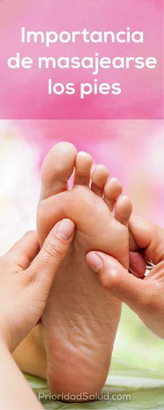Importancia de masajearte en los pies. Mira como hacerlo fácilmente. #pies #masajes