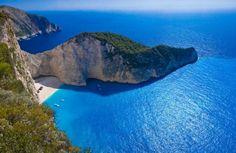 """Navagio"" beach in Zakynthos"