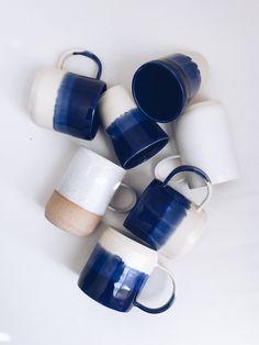 Arrow + Sage ceramic mugs