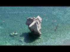 You may not believe it but all those nice places that appear in this video are in Crete! Watch the story, its funny! Greece Culture, Images Of Summer, Places In Greece, Greece Travel, Falling In Love, Beaches, The Good Place, Mosaic, Beautiful Places
