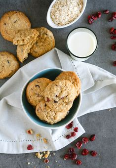 Cranberry cookies – Cupcakes and Couscous Oat Cookies, Cupcake Cookies, Cupcakes, Cranberry Cookies, Couscous, Cinnamon, Desserts, Recipes, Food