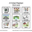 FREE community-themed articulation activities for /r/, /l/, and /s/ at the word level with board game by Let's Grow Speech.