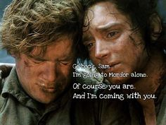 LOTR quote about friendship ;')